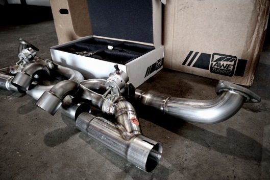 911 GTS AWE TUNING EXHAUST